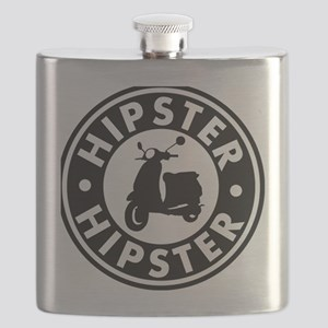 hipster2_blacck Flask