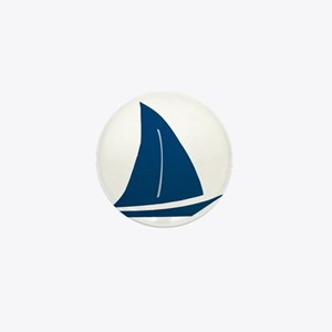 sailboat Mini Button