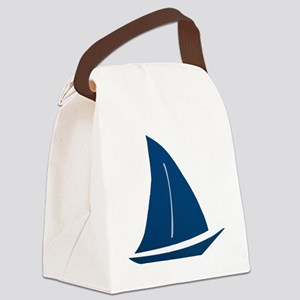 sailboat Canvas Lunch Bag