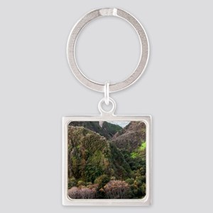 Bixby Bridge - Print Square Keychain