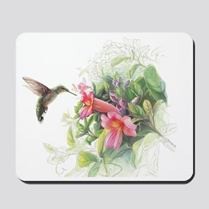Hummingbird_Card Mousepad