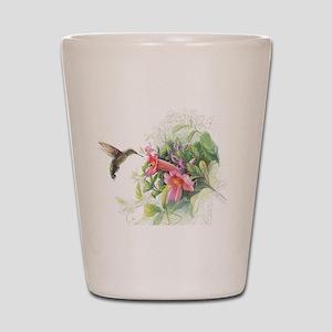 Hummingbird_Card Shot Glass