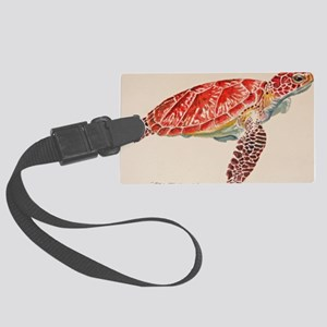 Sea Turtle Large Luggage Tag
