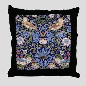 William Morris Strawberry Thief Throw Pillow