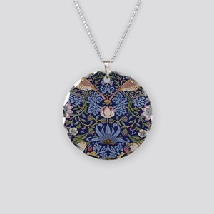 William Morris Strawberry Th Necklace Circle Charm