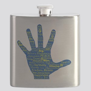 Hand Affirmations Flask