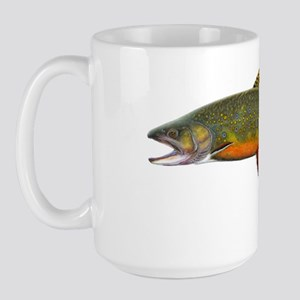 Beaver pond Brook Trout T shirt Large Mug