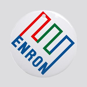 enron Round Ornament