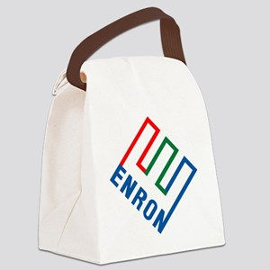 enron Canvas Lunch Bag