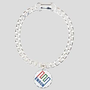enron Charm Bracelet, One Charm