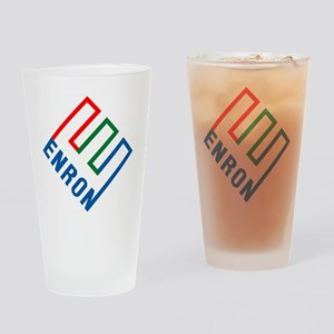enron Drinking Glass