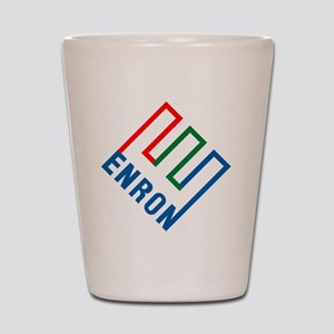 enron Shot Glass