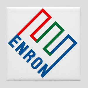 enron Tile Coaster