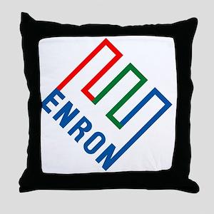 enron Throw Pillow
