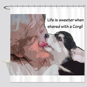 Life is Sweeter when Shared with a Corgi 8 -10WB S