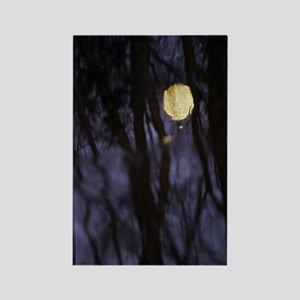 Harvest Moon Reflected - Print Rectangle Magnet