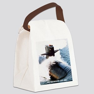 bremerton small poster Canvas Lunch Bag