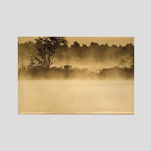 Bog at Dawn - Print Rectangle Magnet