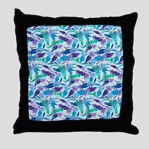 blanket-squid-ice-shallows Throw Pillow