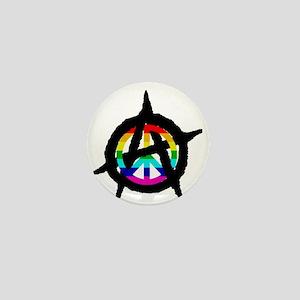 benevolent anarchist-hat Mini Button