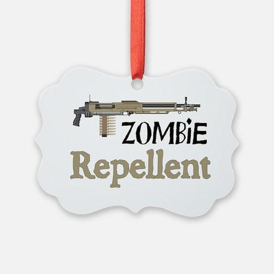 2-ZombieRepellent Ornament