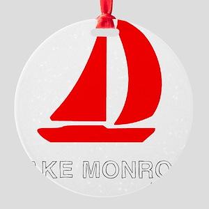 Lake Monroe_10x10 Round Ornament