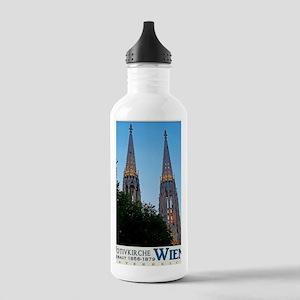 Votivkirche Night Stainless Water Bottle 1.0L