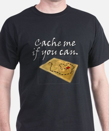 cache me if you can transparent T-Shirt