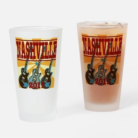 Nashville 2011 Drinking Glass