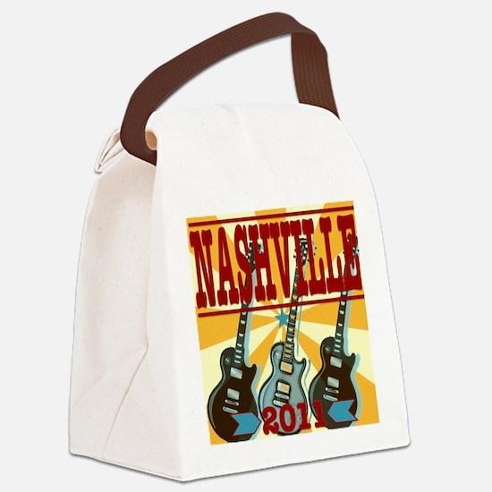Nashville 2011 Canvas Lunch Bag