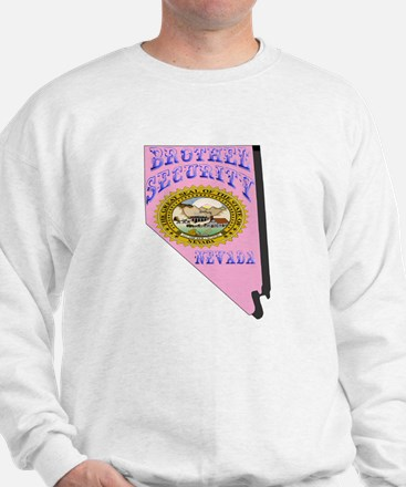 Nevada Brothel Security Sweatshirt