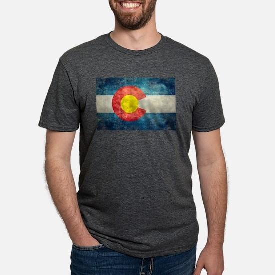 Colorado State flag retro style vintage T-Shirt