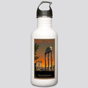 Rome - Temple Ruins in Stainless Water Bottle 1.0L