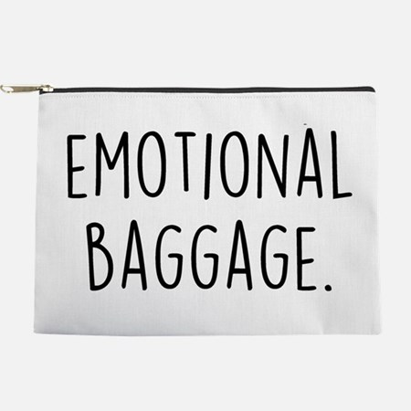 Emotional Baggage Makeup Pouch
