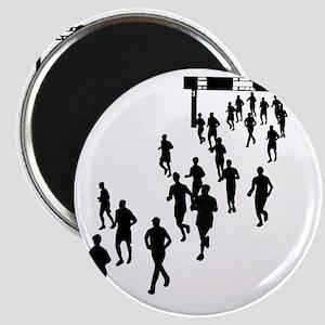 Running People Magnet