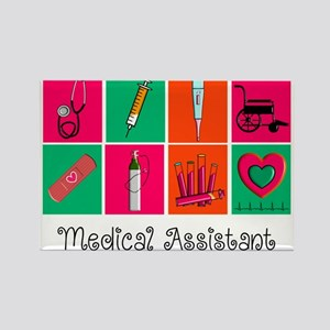 Medical Assistant Pop Art 2 Magnets