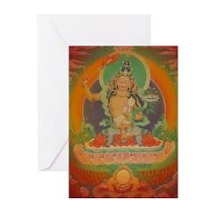 Manjusri Buddha Card (Pk of 10)