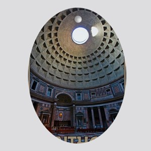 Rome - The Pantheon Oval Ornament