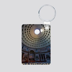 Rome - The Pantheon Aluminum Photo Keychain