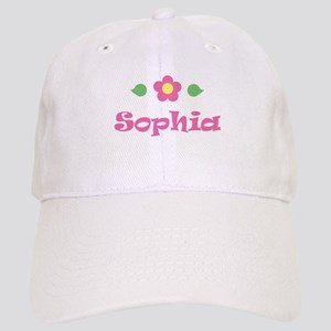 "Pink Daisy - ""Sophia"" Cap"