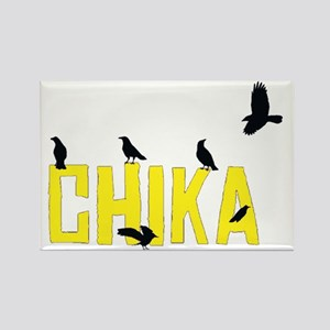 chika_crows_t Rectangle Magnet