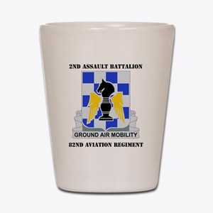 2-82ND AV RGT WITH TEXT Shot Glass