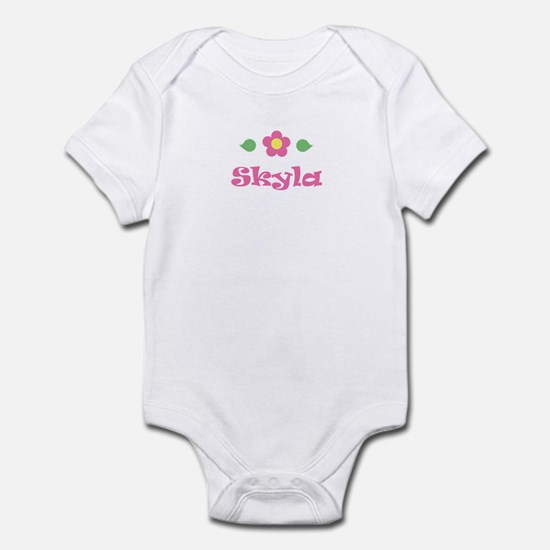 "Pink Daisy - ""Skyla"" Infant Bodysuit"