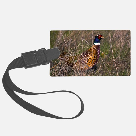(6) Pheasant  407 Luggage Tag