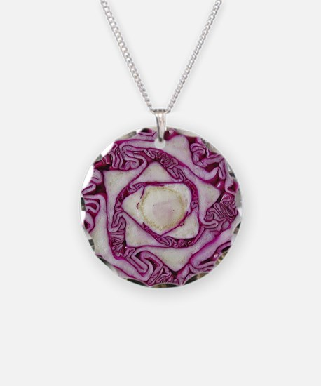 purple cabbage Necklace