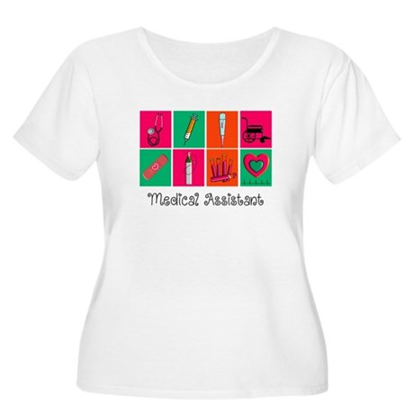 Medical Assistant Pop Art 2 Plus Size T-Shirt