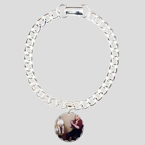John George Brown music_ Charm Bracelet, One Charm