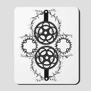 Circle_pocket_black Mousepad