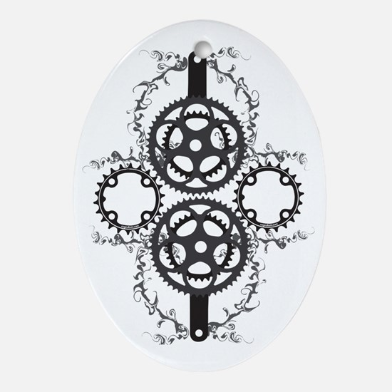 Circle_pocket_black Oval Ornament