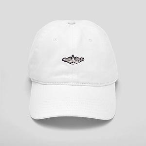 whale white letters Cap